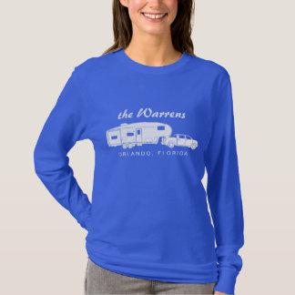 5. Rad-/Spielzeug-Schlepper-Silhouette-Grafik T-Shirt