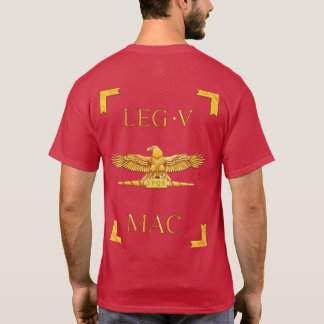 5 römischer Legio V Macedonica Vexillum T - Shirt