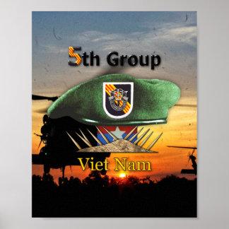 5. Veterane LRRP der Kraft-Gruppen-SFG SF Poster