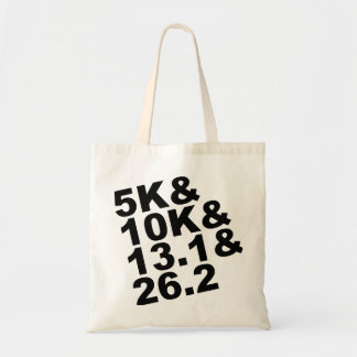5K&10K&13.1&26.2 (Schwarzes) Tragetasche