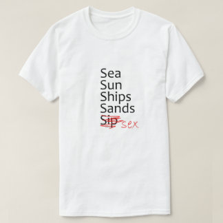 5S am Strand T-Shirt
