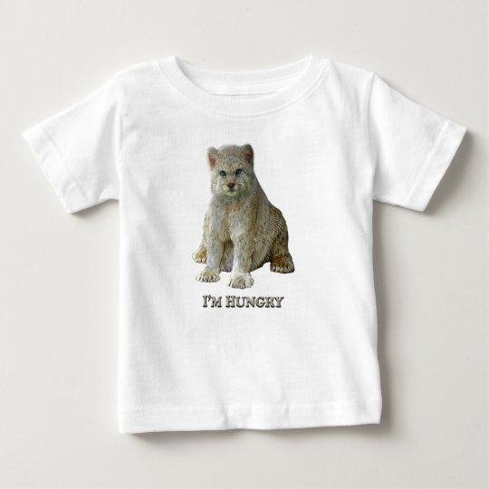 600 lbs-Katze hungrig - Baby-T - Shirt