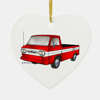 60-61 Corvair Rampside Lieferwagen Keramik Ornament