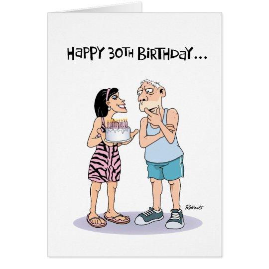 60. der Geburtstags-Gruß der Männer Karte