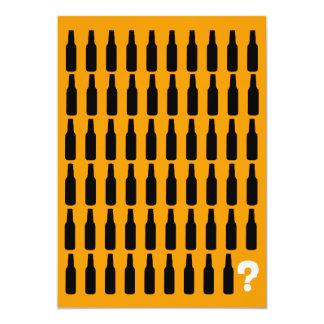 60. Geburtstags-Einladungen - Bier-Beifall! Karte