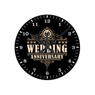 60. Hochzeitstag Uhren