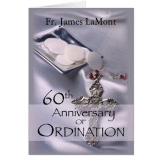 60. Name-Klassifikations-Jahrestags-Silber Cha Karte
