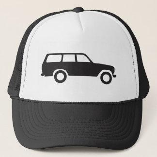 60 Reihen Toyota landen Kreuzer-Hut Truckerkappe