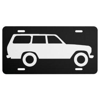 60 Reihen Toyota landen Kreuzer-Kfz-Kennzeichen - US Nummernschild