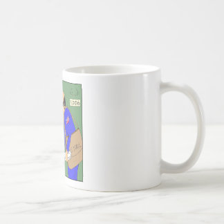 624 Odin erhält Post-Cartoon Kaffeetasse