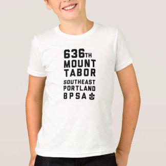 636th Mt. Tabor - Kindert-shirt Schwarz-Text T-Shirt