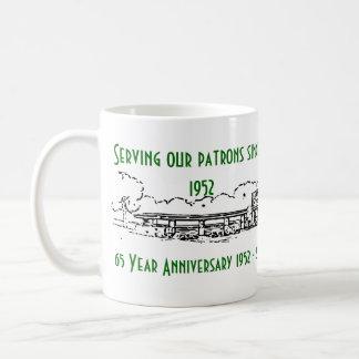 65 Jahr-Jahrestags-Tasse Kaffeetasse