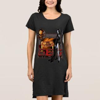666 Damen-T - Shirt-Kleid Kleid
