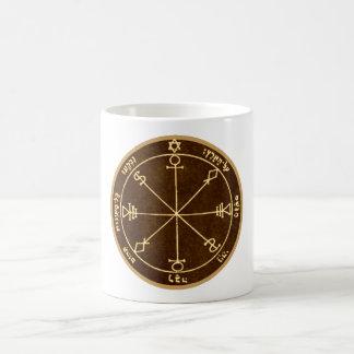 6. Pentagramm des Mondes Kaffeetasse