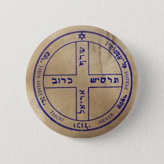 6. Pentagramm von Jupiter Runder Button 5,1 Cm