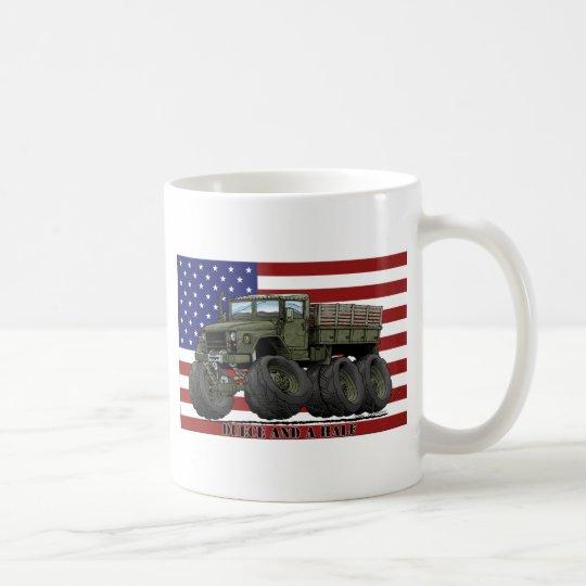 6x6 M35 2-1/2 Tonnen-LKW Kaffeetasse