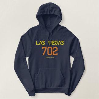 702 Las Vegas Bestickter Hoodie