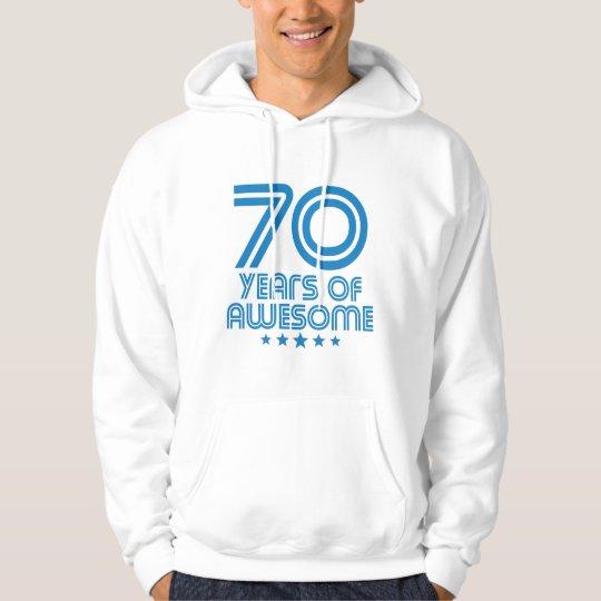 70 Jahre des fantastischen 70. Geburtstages Hoodie