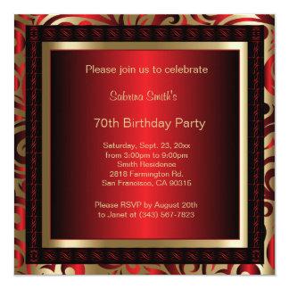 70. Text des Geburtstags-Party-| DIY Karte