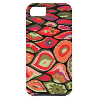 70er psychedelisch iPhone 5 hüllen