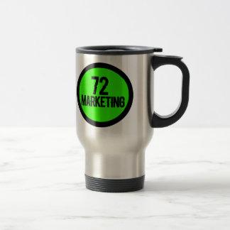 72 Tassenschale des rostfreien Stahls des Reisebecher