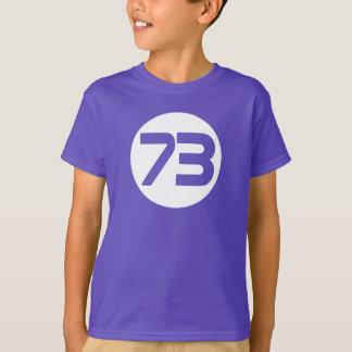 73 das beste T-Shirt Zahl Big Bangs Sheldon