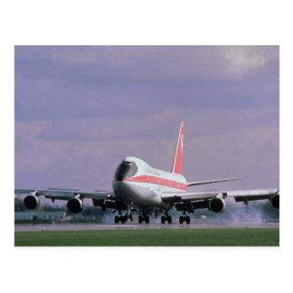 747 Länder an internationalem Flughafen Pearson, Postkarte