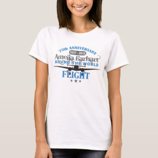 75-jähriger Jahrestag Amelia Earhart T-Shirt