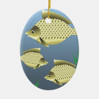 77Fish_rasterized Keramik Ornament