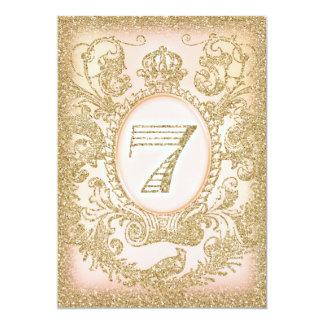 7. Geburtstags-einst Prinzessin 12,7 X 17,8 Cm Einladungskarte