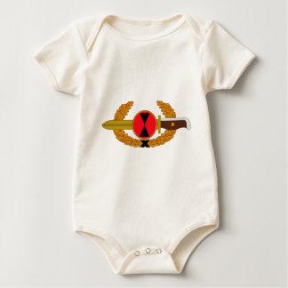 7. Infanteriedivision - Auftrag des Bajonettes Baby Strampler