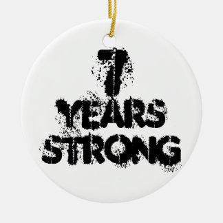 7 Jahre starke Erholungs-Verzierungs- Keramik Ornament
