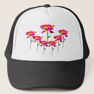 7 niedliche Blumen: auf KOOLshade HealingStone Truckerkappe