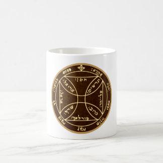 7. Pentagramm des Sun Kaffeetasse