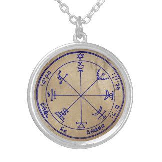 7. Pentagramm von Jupiter Versilberte Kette