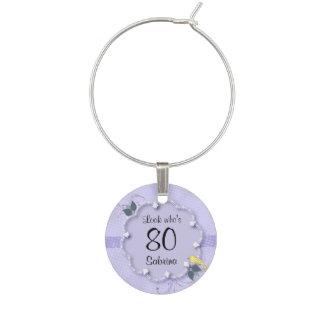 80. Text des Geburtstags-Party-  DIY Glasdekorierung