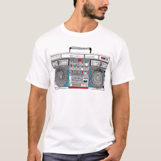 80er boombox Illustration T-Shirt