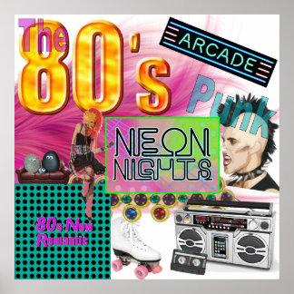 80er Collage Poster