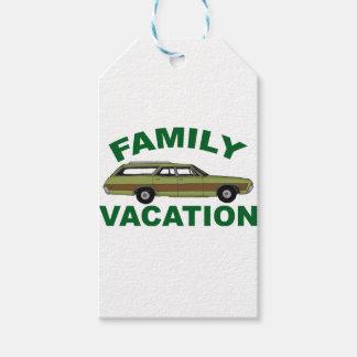 80er Familien-Ferien Geschenkanhänger