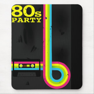 80er-Party Mousepad