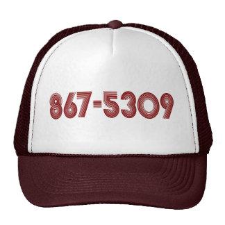 867-5309 BASEBALLCAPS