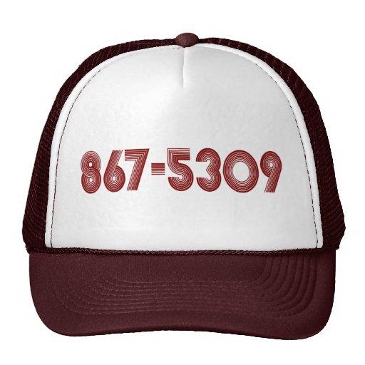 867-5309 CAPS