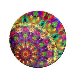 "8,5"" dekorative Porzellan-Platte K12 Porzellanteller"