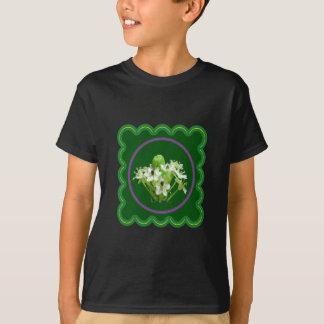 8 Entwürfe der Blumenblumenphotographie n auf T - T-Shirt