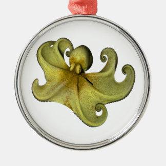 8 Fuß in Meer Rundes Silberfarbenes Ornament