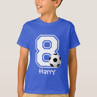 8. Geburtstagsjungenfußball personalized-2 T-Shirt