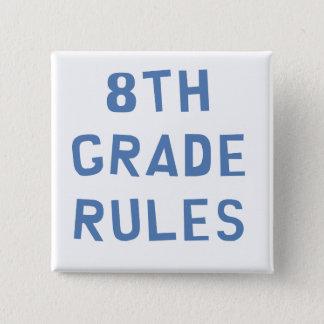 8. Grad-Regeln Quadratischer Button 5,1 Cm