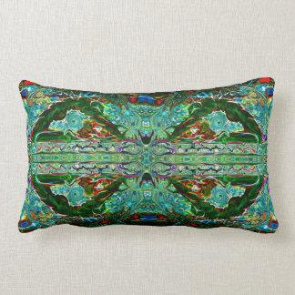 8 grüner König Pigeon Yoga Pose Pillow durch Lendenkissen