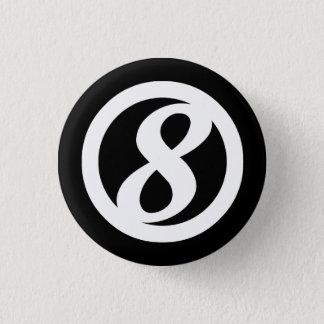 8. Kreis-Knopf Runder Button 3,2 Cm