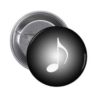 8. Merken Sie Scheinwerferlicht-Musik-Werkzeuge Runder Button 5,7 Cm